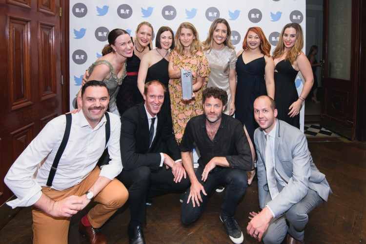 B&T Awards 2016: The Hallway (NSW Agency of the Year)