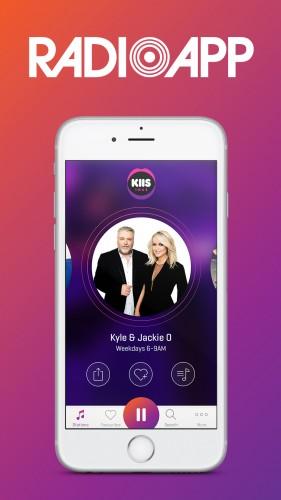 RadioApp (Kyle & Jackie O)