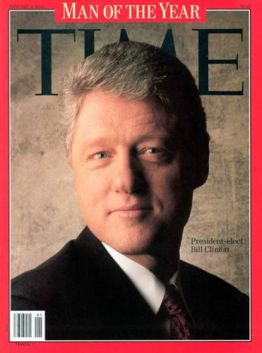 TIME Magazine cover (Bill Clinton)