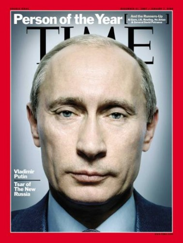 TIME Magazine cover (Vladimir Putin)