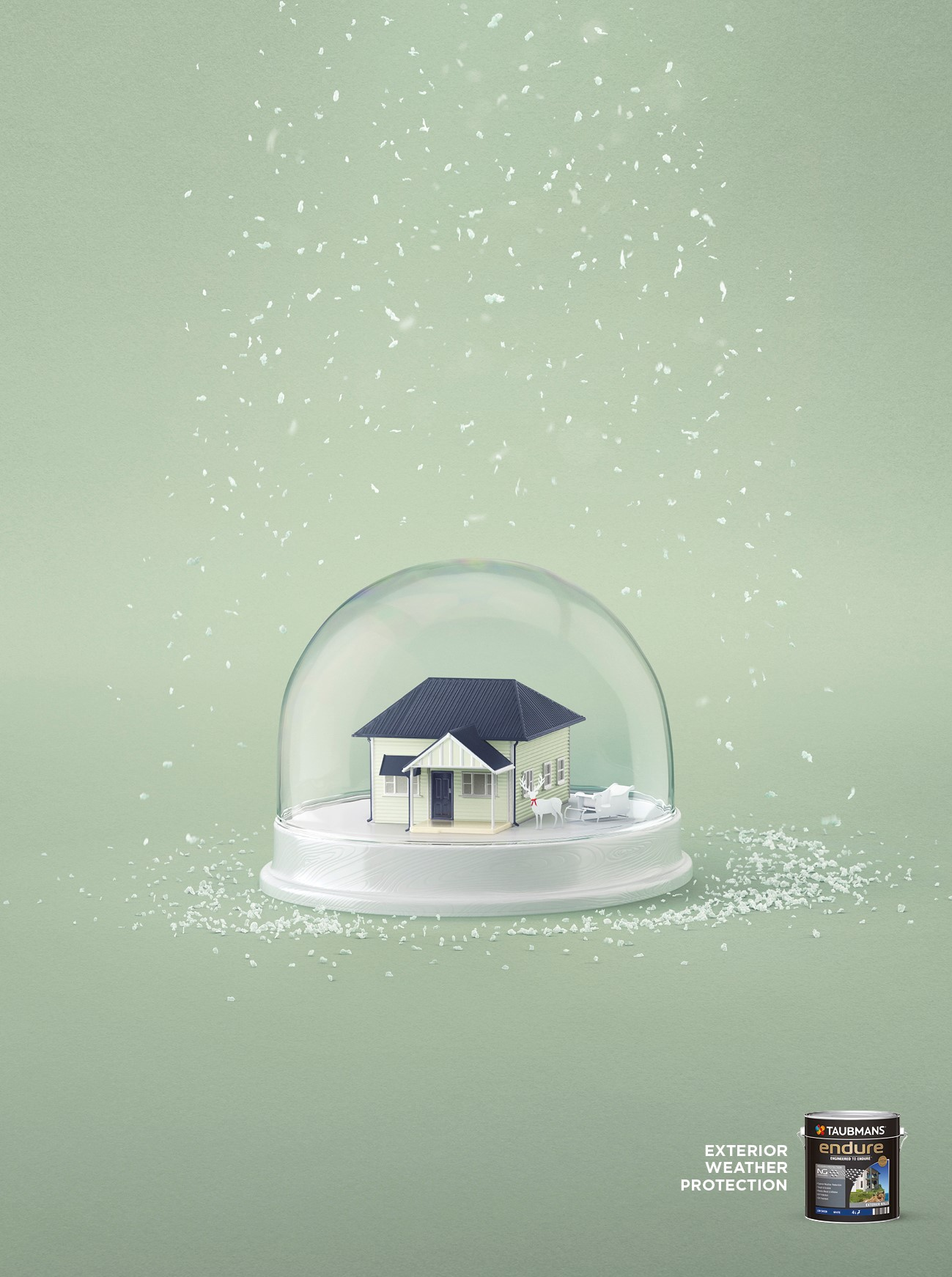 Taubmans Snow Globe green