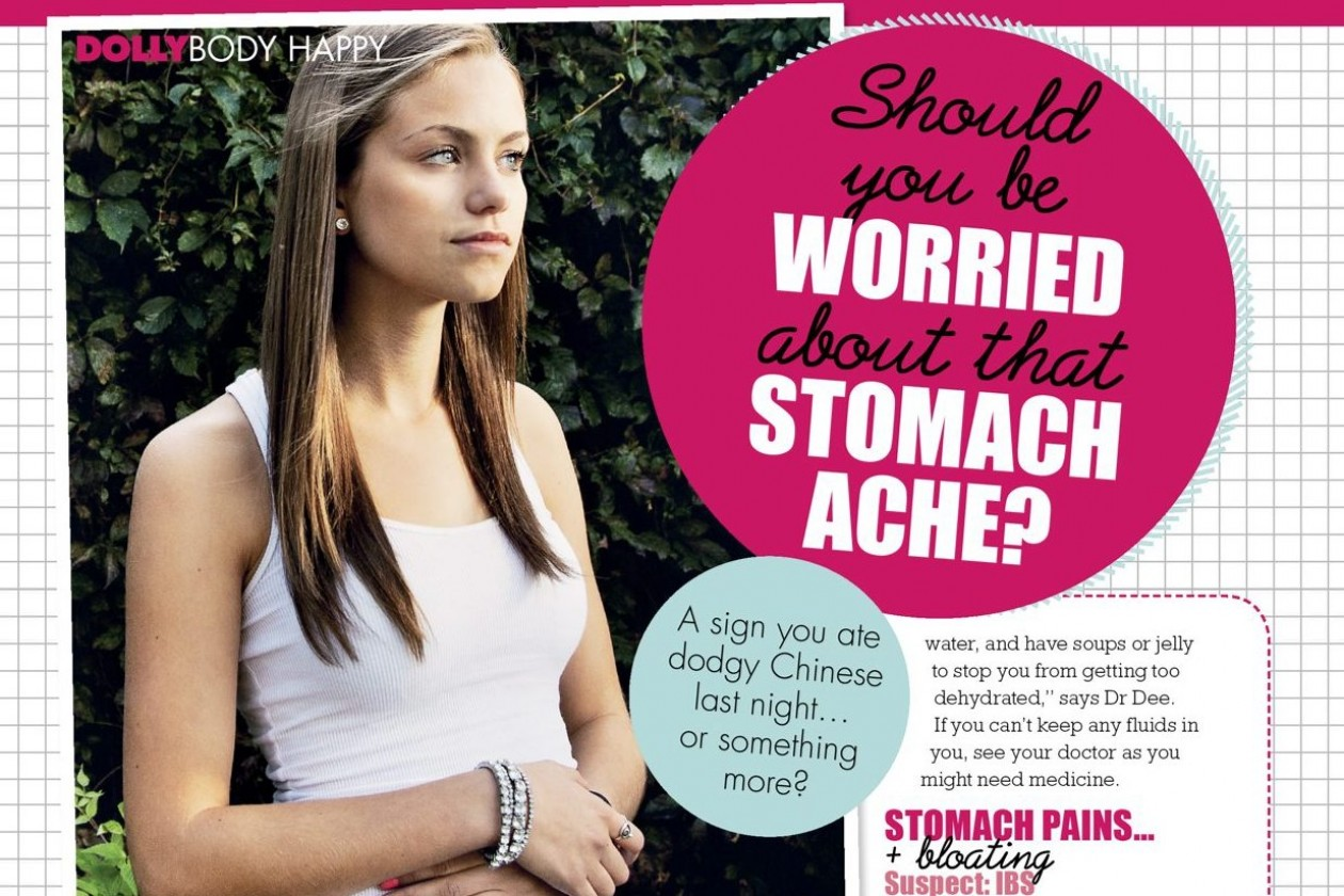 Should You Be Worried About That Stomach Ache? 118 Dolly Dolly