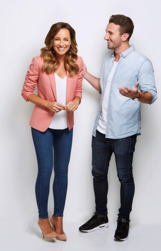 Carrie Bickmore and Tommy Little