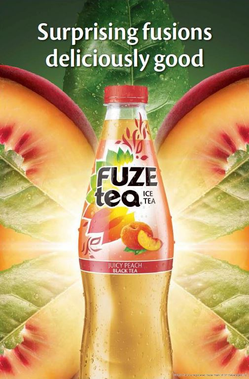 Fuze Tea Peach OOH