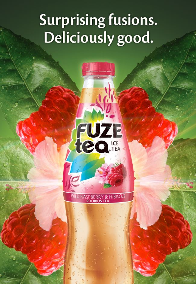 Fuze Tea Raspberry OOH