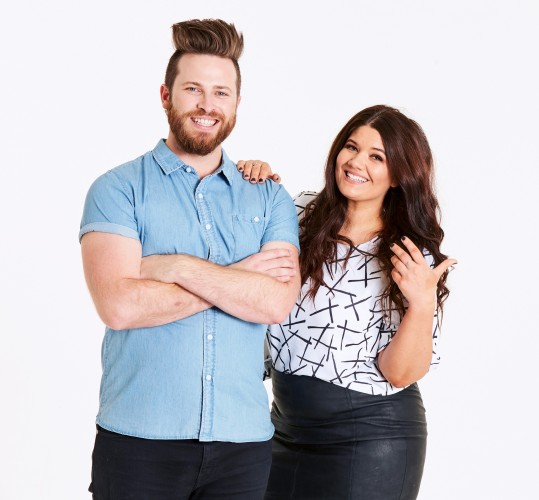 Pictured: Ryan Jon and Tanya Hennessy