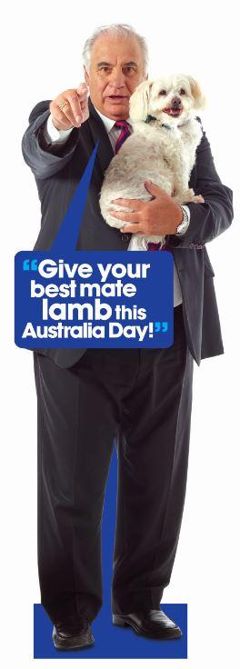 Sam Kekovich #LambFurAll