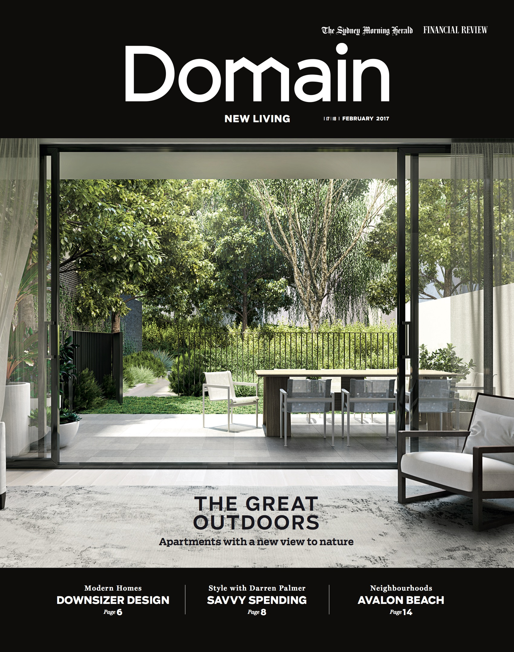 Domain Back Cover - New Living - SMH