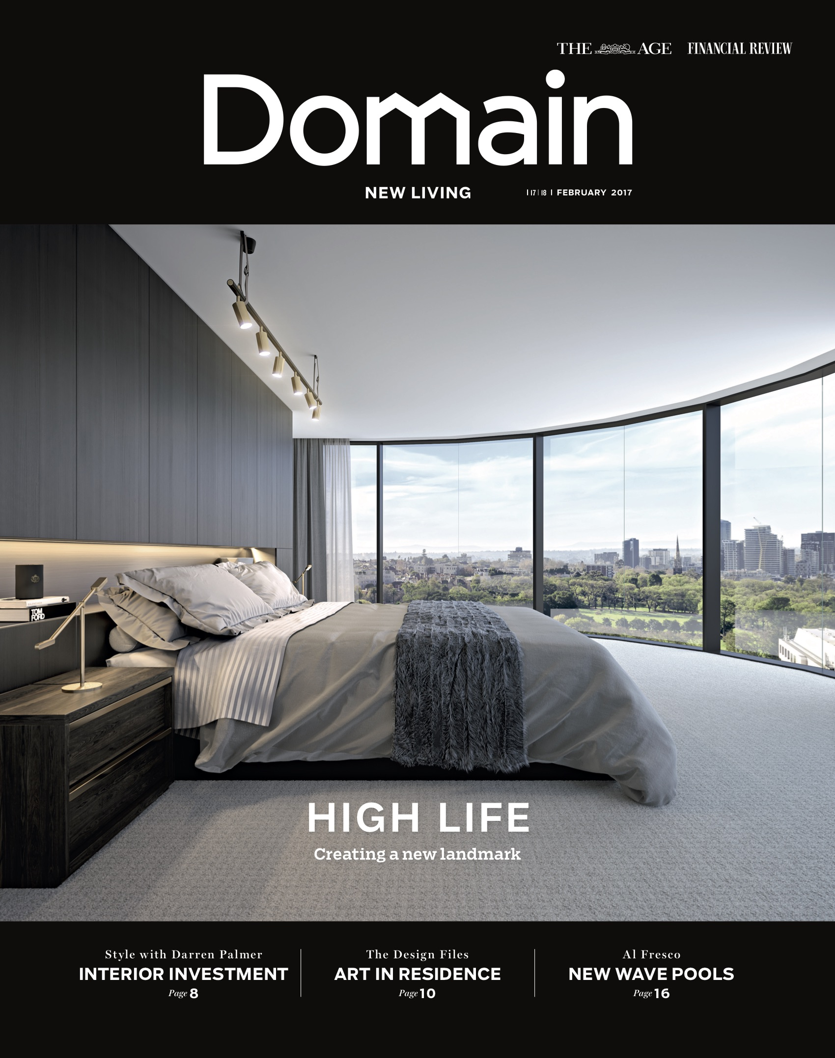 Domain Back Cover - New Living - The Age