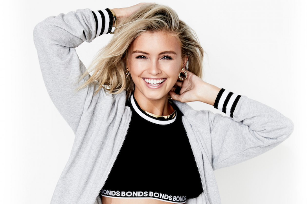 c8f5fad42e Bonds Unveils Social Media Queen   Former Neighbours  Star Sarah Ellen As  New Face