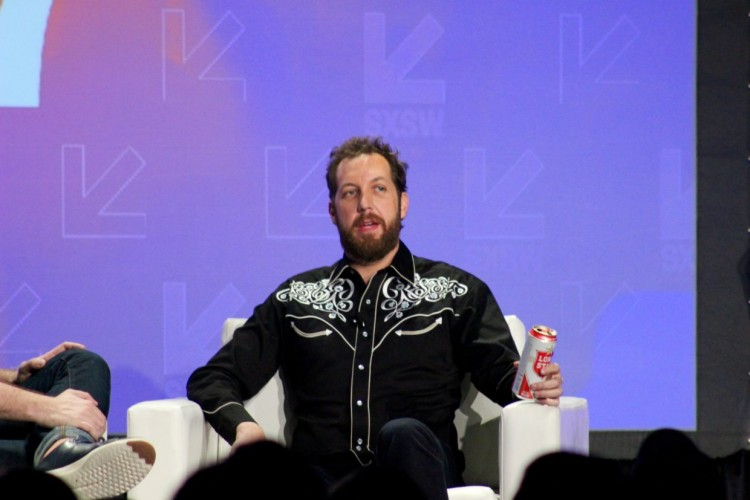 Pictured: Chris Sacca speaking at SXSW 2017.