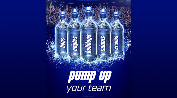 Coke's PUMP Named Official Water Of The AFL - B&T