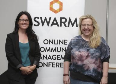 Alison Michalk and Venessa Paech - Swarm Co-Founders