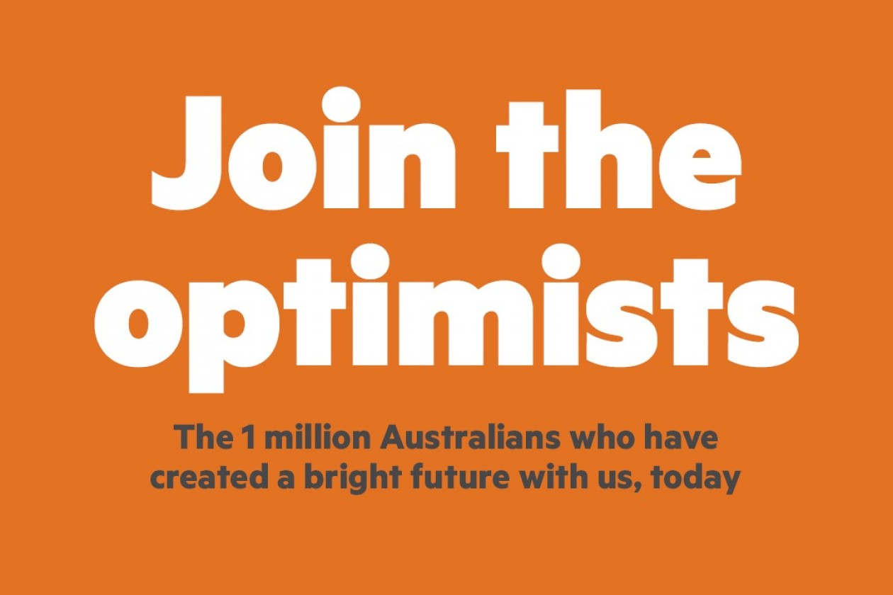 PENSO Calls On Optimists In First Campaign For Australian Unity