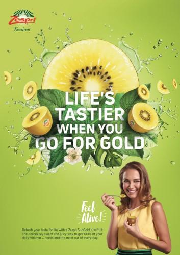 Zespri Kiwifruit campaign (LOUD)