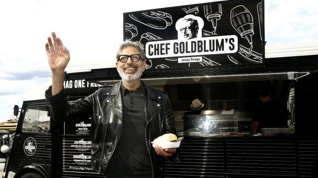 Jeff Goldblum's food truck (Menulog)