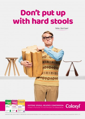 'Stefan the stool expert' (Coloxyl campaign) [1]