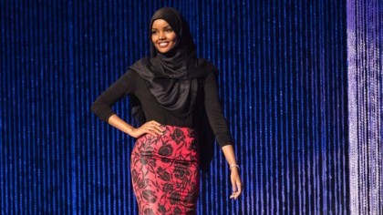 Hijab-Wearing Model Halima Aden Scores Allure Magazine Cover