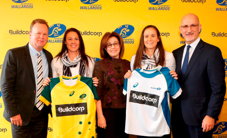 Buildcorp spnsorship of women's rugby teams