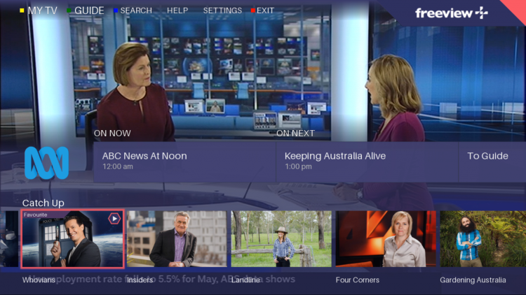 Freeview Play launches new curated content and demo feature