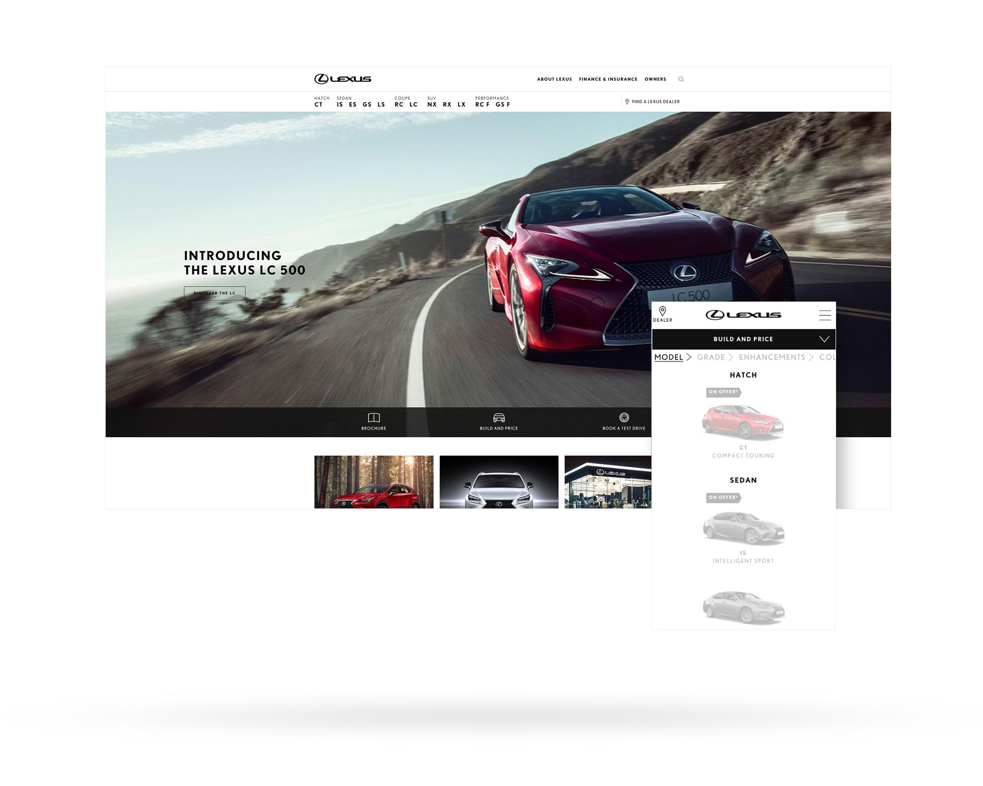 Lexus Launches Advanced 28 Site Web Platform With Ie