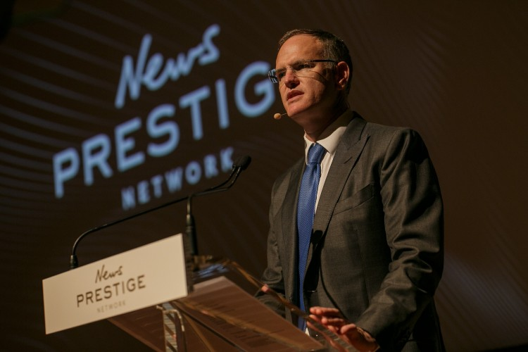 Michael Miller at the News Prestige Network launch