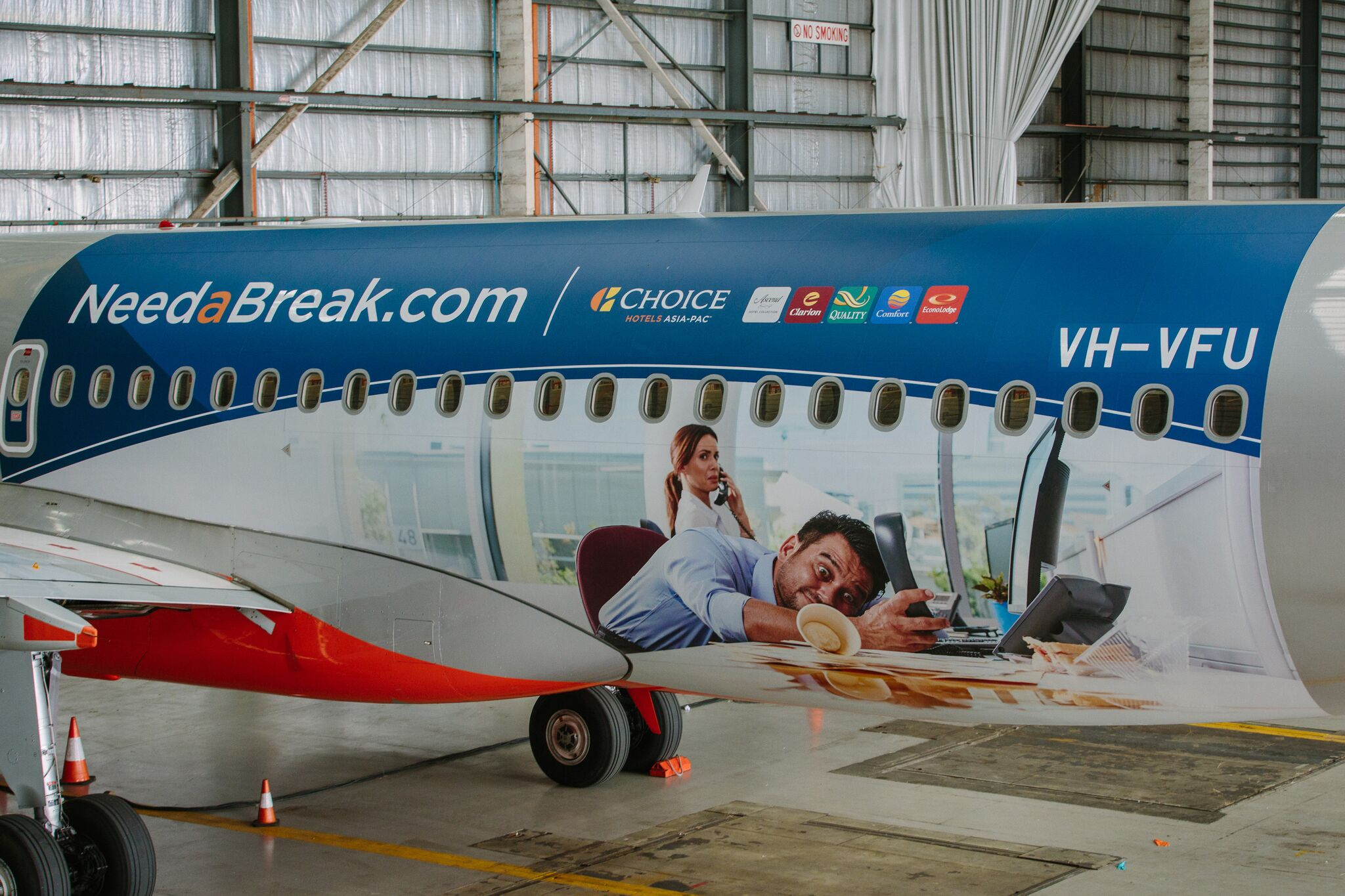 'Need A Break' campaign (Choice Hotels Asia-Pac)