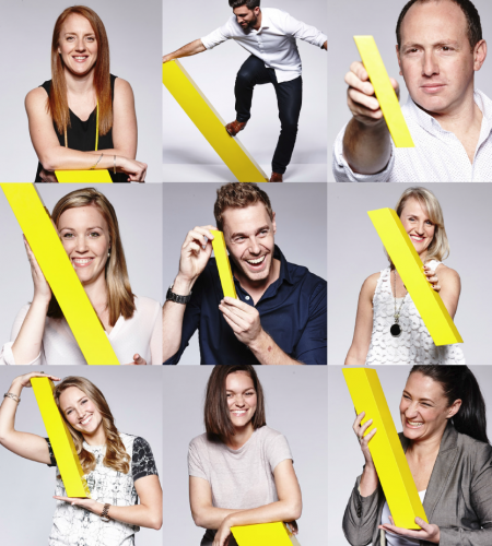 TBWA Melbourne's account management team