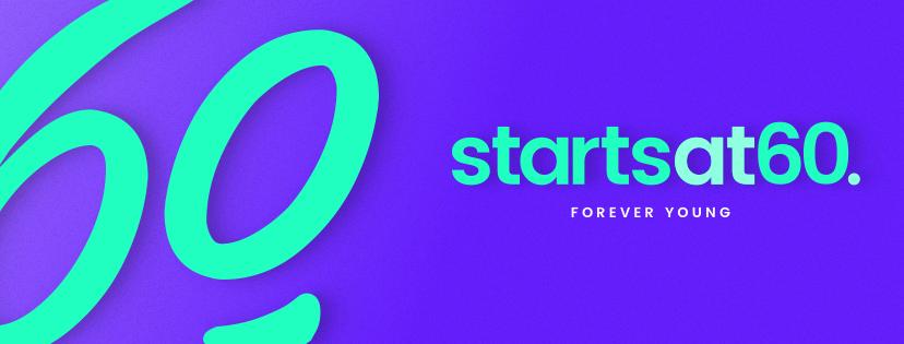 Starts at 60 logo