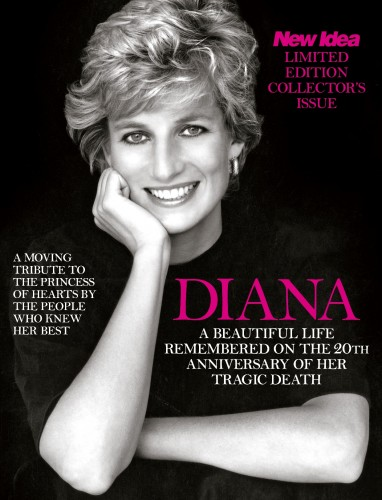 New Idea Princess Diana 20th Anniversary Edition