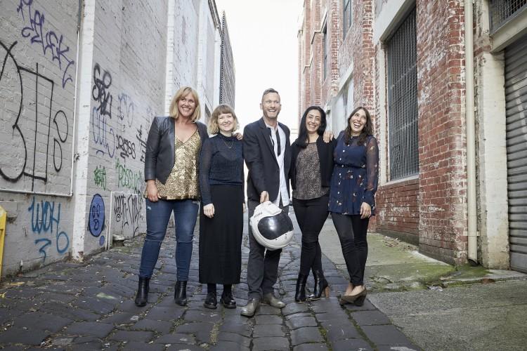 Elly Hewitt, Etta Curry, Matt Flinn, Jacqui Duca-Clemens and Gabriella Scardamaglia (Light Year Productions)