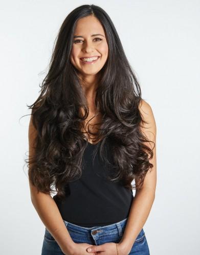Melissa Hurwitz (Pantene's #TrainYourHairStrong campaign)