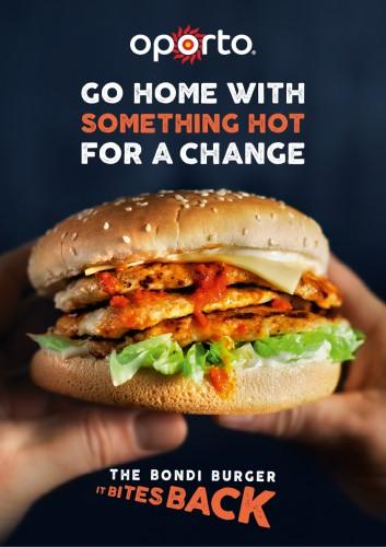 Oporto Bondi Burger ad (Host) [1]