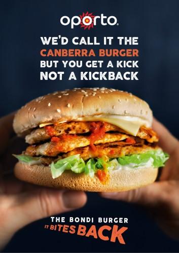 Oporto Bondi Burger ad (Host) [3]