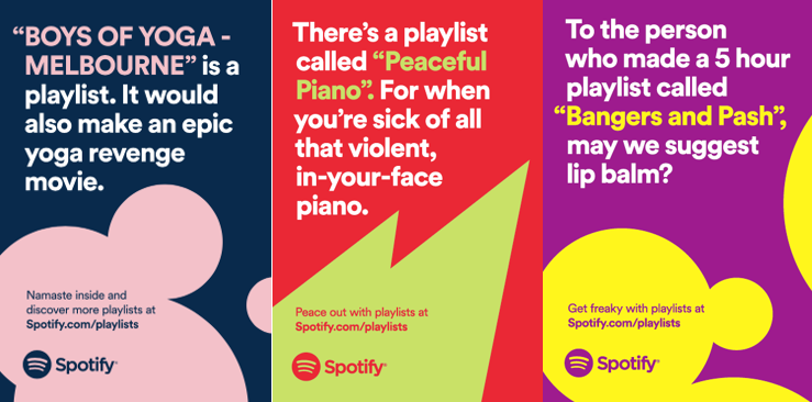 Spotify's 'Platform for Discovery' campaign [2]