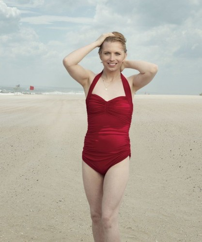 Chelsea Manning appears in swimsuit in Vogue