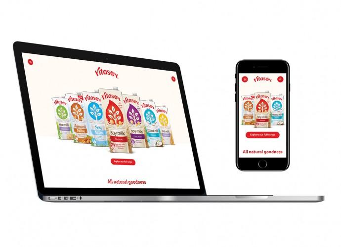 Vitasoy packaging design (BELEIVE Branding)