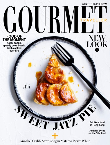 Gourmet Traveller cover
