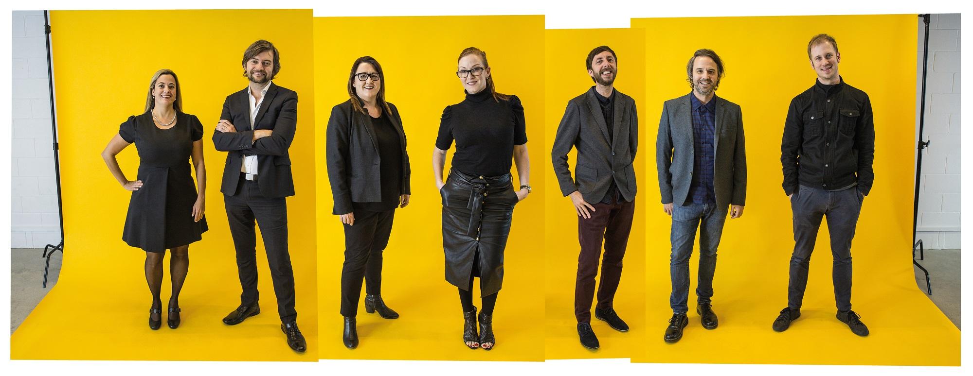 Khemistry's leadership team (Caroline Starecky, Andy Fyffe, Michelle Tungate, Priscilla Jeha, James Bracken, Lindsay Thompson, Phil Hagstrom)
