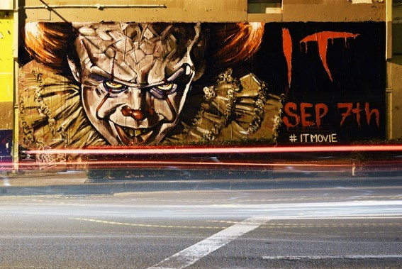 IT movie marketing stunt [1]