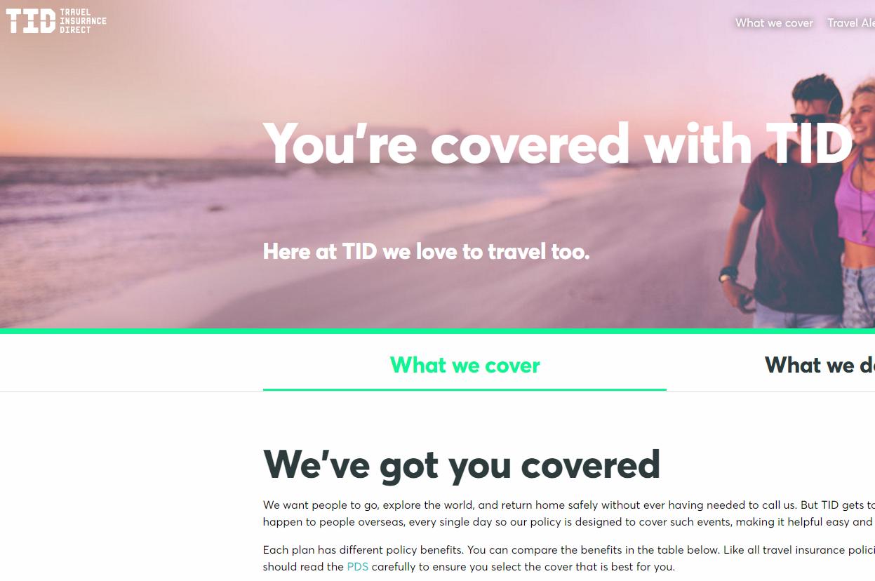 Tid Travel Insurance Direct