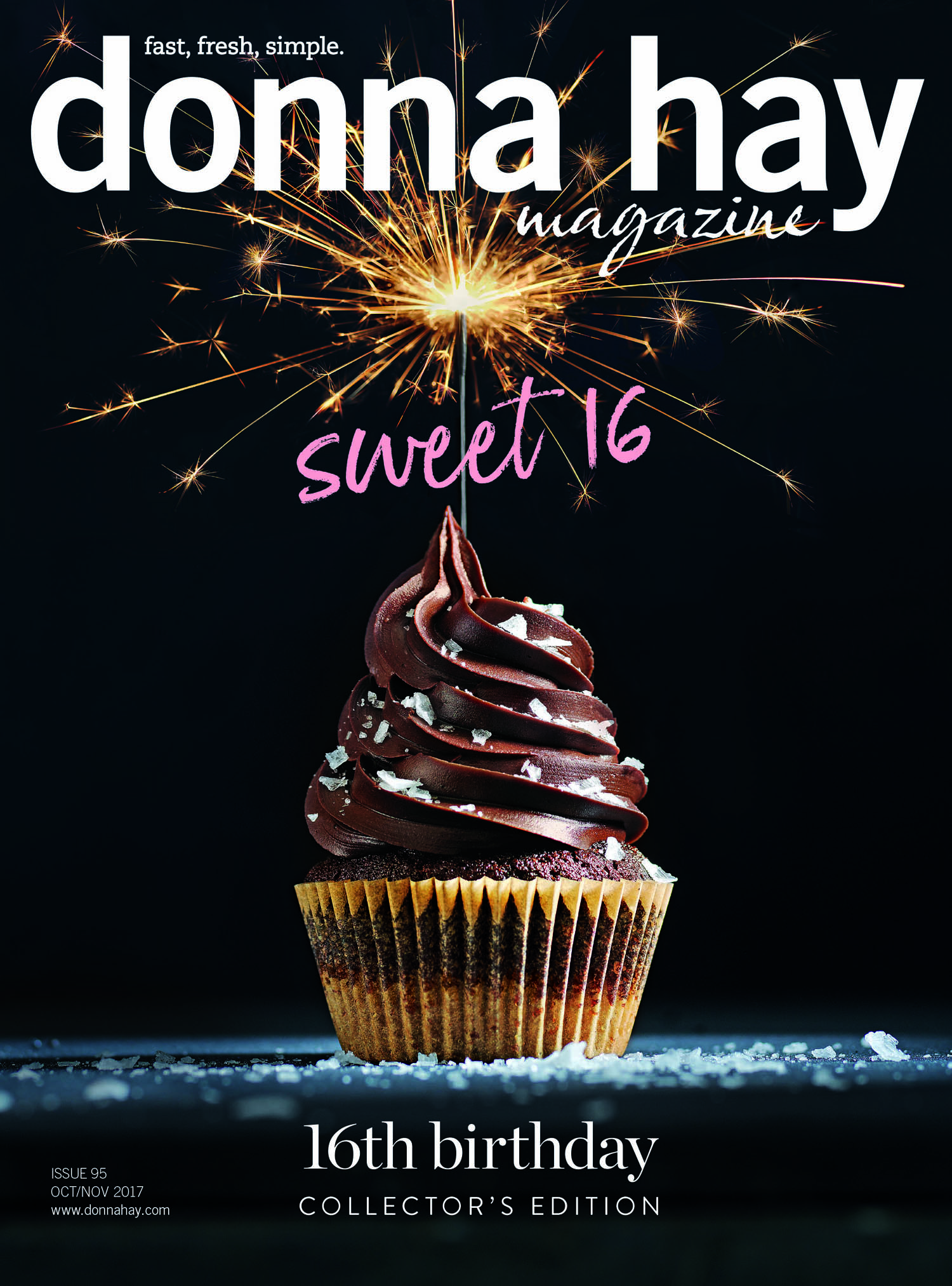 donna hay magazine cover - sweet 16