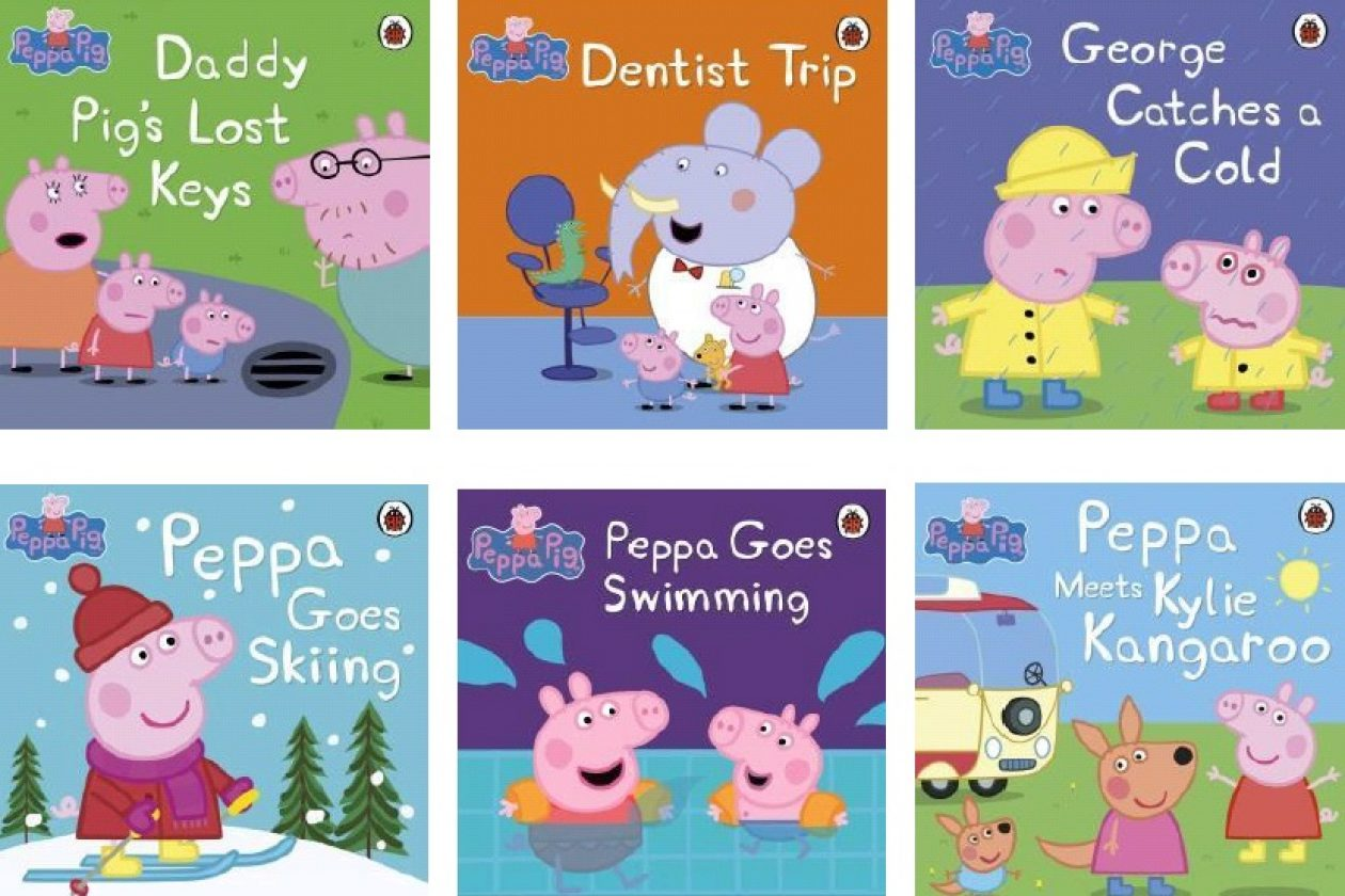 Peppa Pig Collection 3 Books Set (Peppa Goes on Holiday,Peppa Goes Swimming,