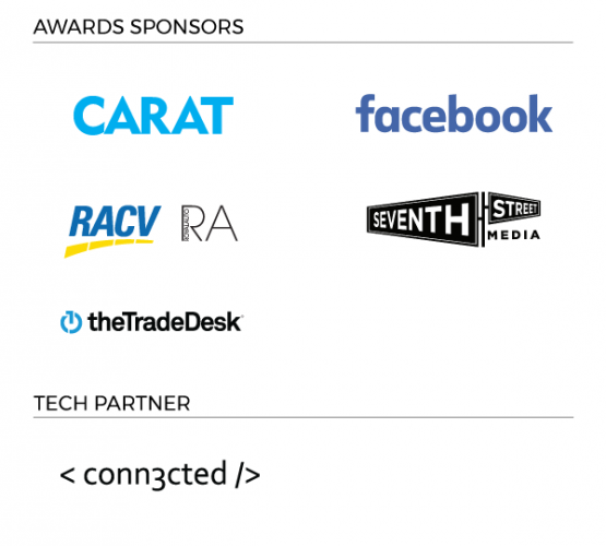 B&T Awards 2017 sponsor block