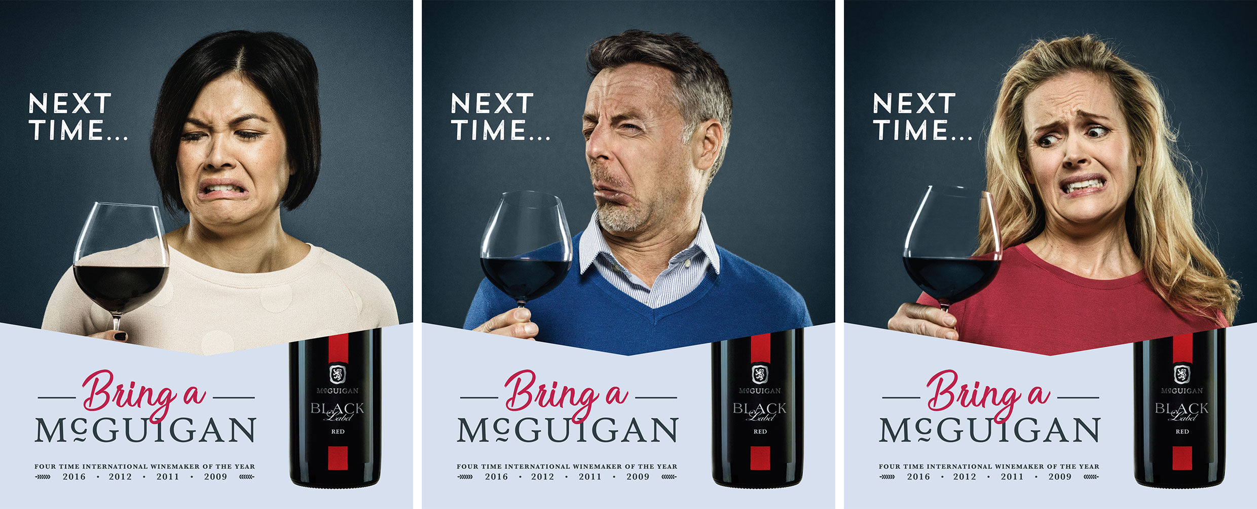 McGuigan Wines' 'Awkward Moments' campaign