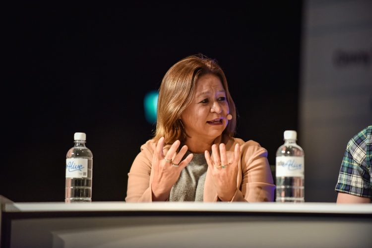 Michelle Guthrie at Radio Alive 2017