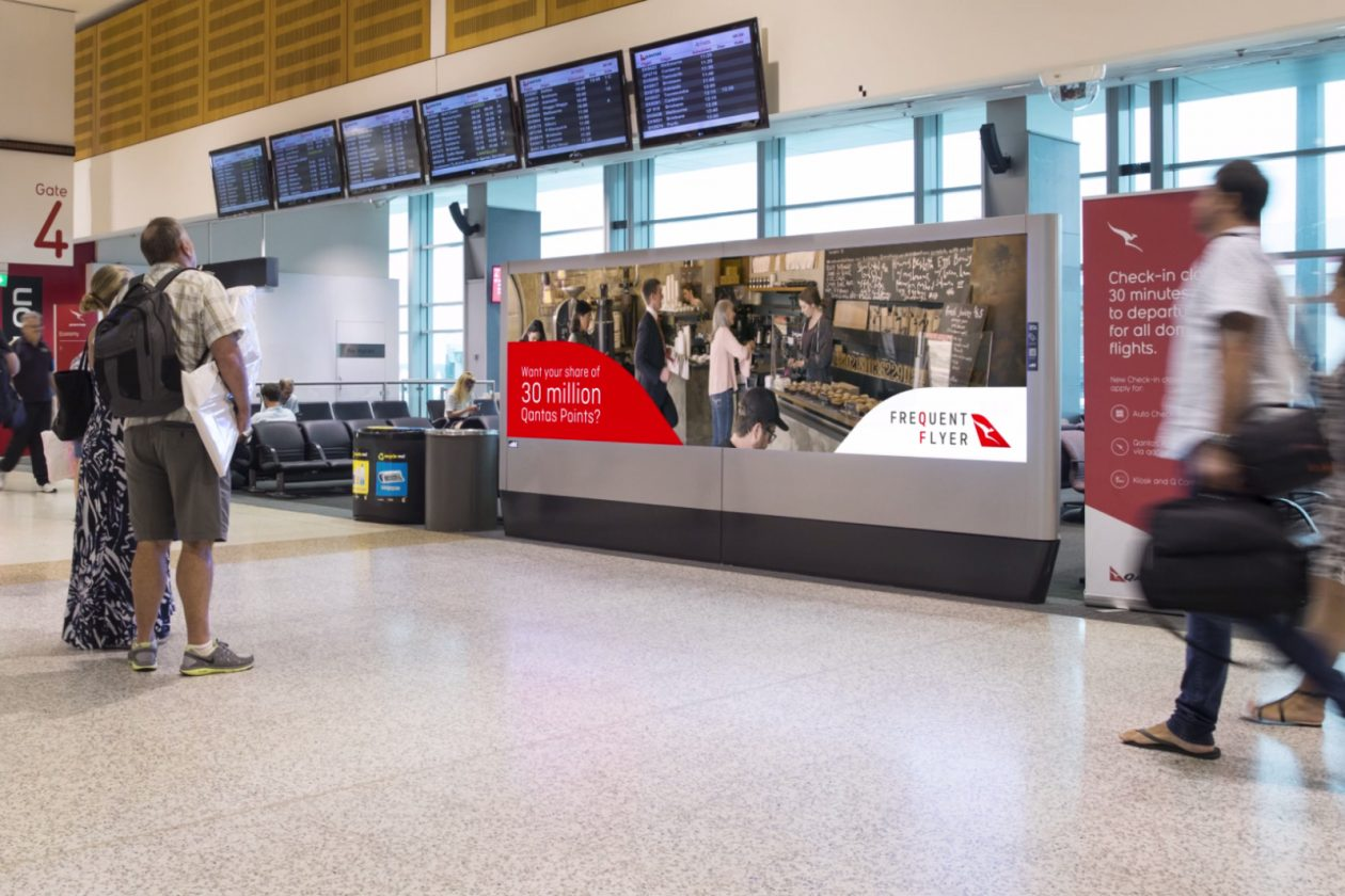 OOH Giant oOh!media Helps New Qantas Campaign Take Flight - B&T