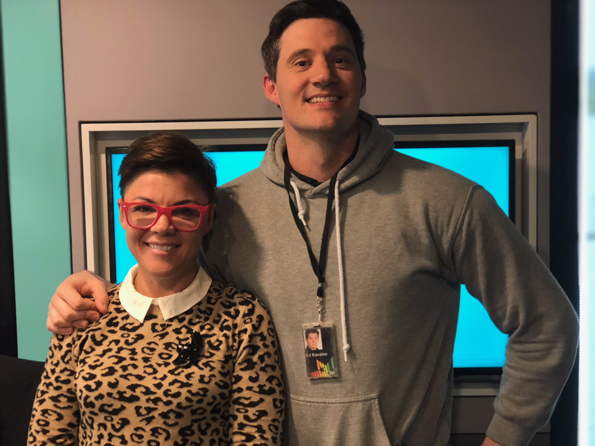 Ed Kavalee and Em Rusciano (2Day FM)