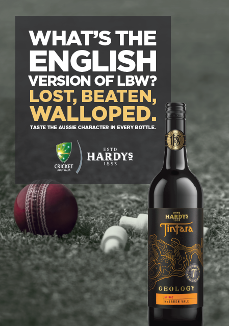 Hardys Wine Ashes campaign [1]