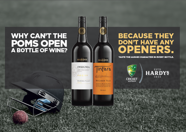 Hardys Wine Ashes campaign [2]